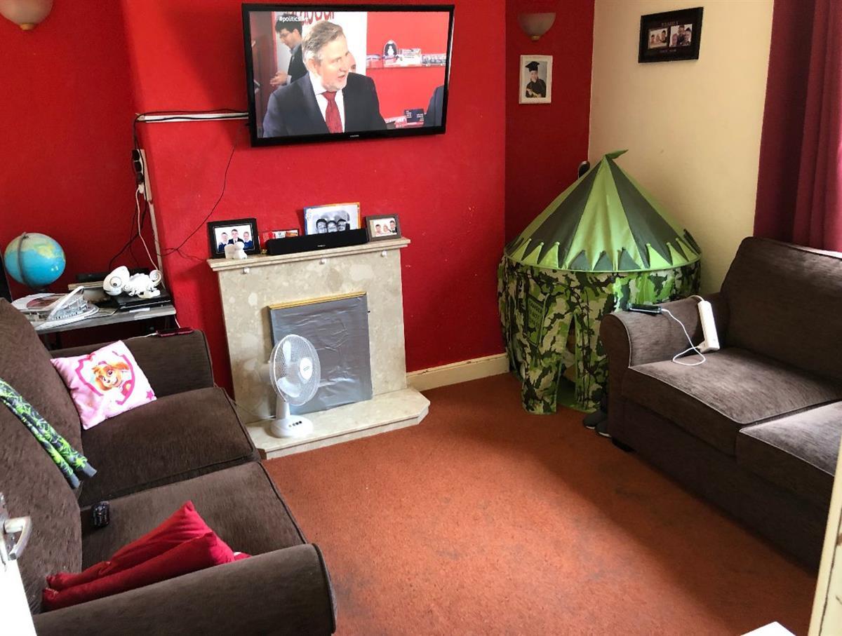 Lounge of the residential maisonette